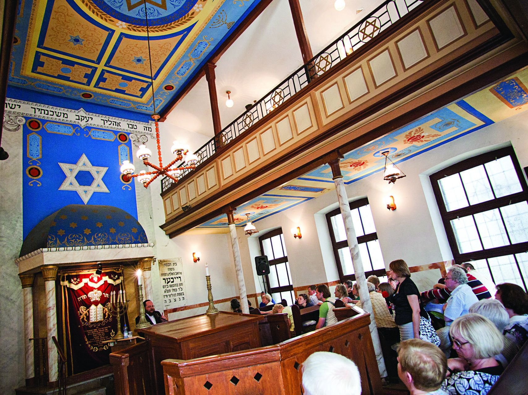 Inside Reichers' Synagogue , fot. K. Cytacki