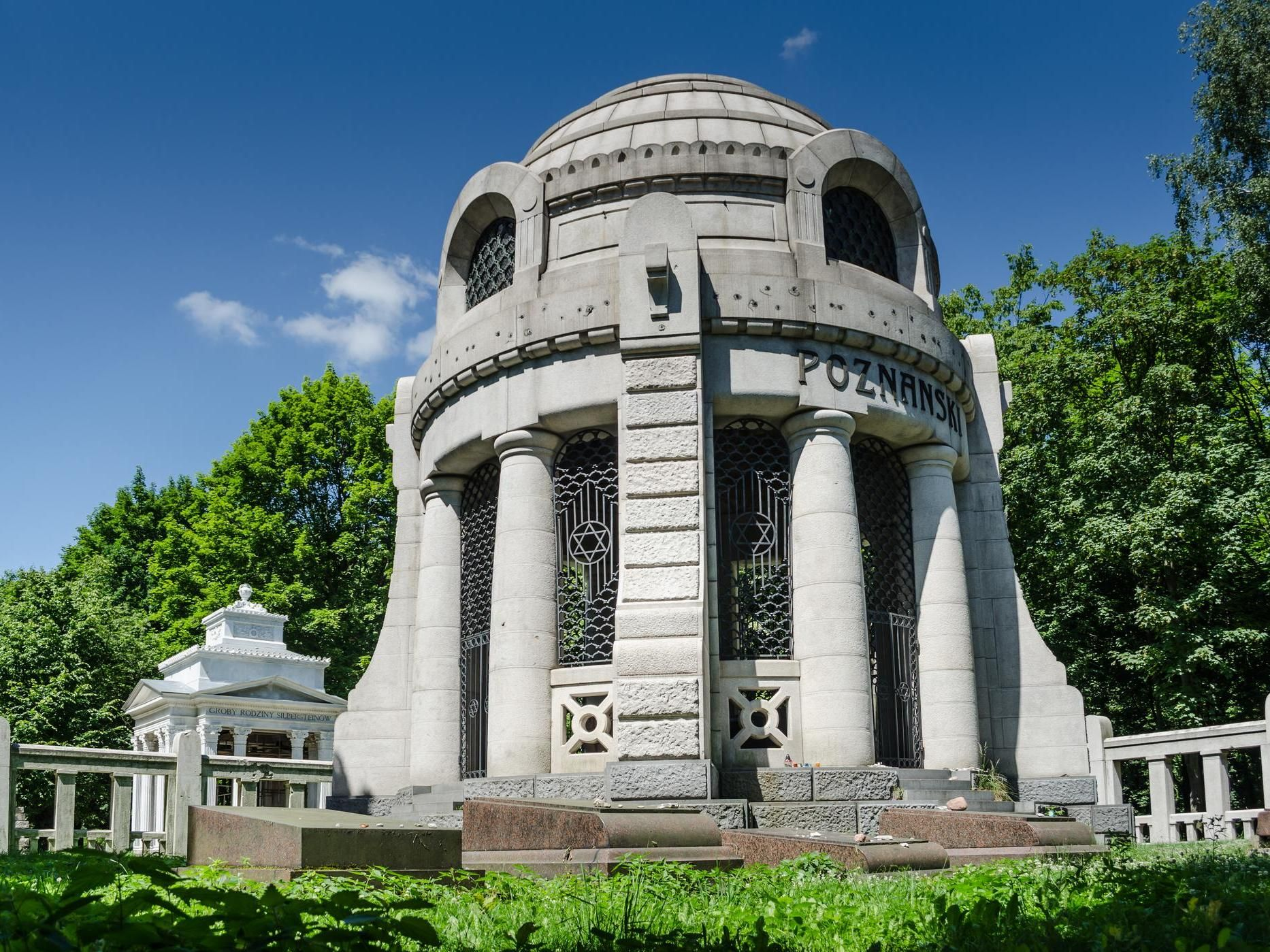 Mausoleum of I. Poznański at the Jewish Cemetery , fot. P. Wojtyczka