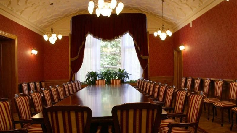 Palace of the Biedermann family: conference rooms